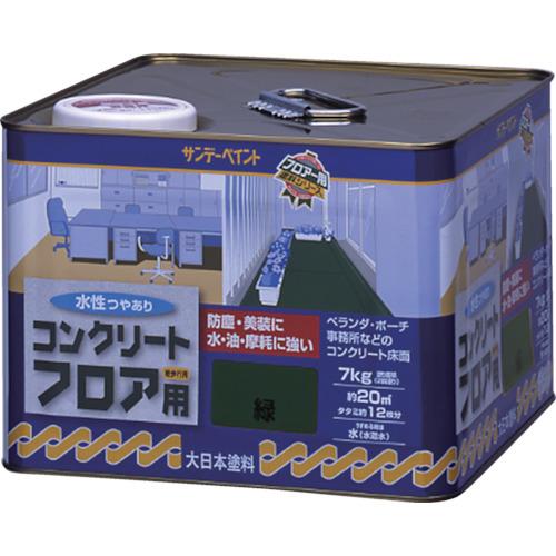サンデーペイント 水性コンクリートフロア用 7kg ライトグレー [267477] 267477 販売単位:1 送料無料