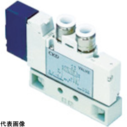 CKD パイロット式5ポート弁 4GA・4GBシリーズ [4GA410-C12-3] 4GA410C123 販売単位:1 送料無料