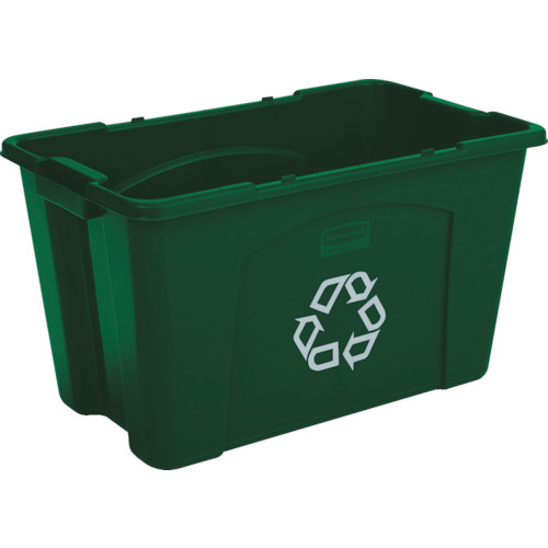 ラバーメイド リサイクルボックス グリーン [57187306] 57187306 販売単位:1 送料無料