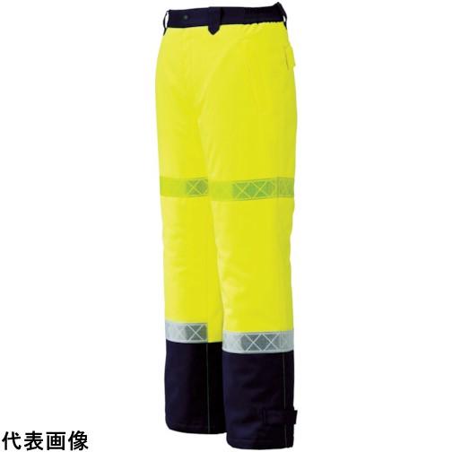 ジーベック 800 高視認防水防寒パンツ 3L イエロー [800-80-3L] 800803L 販売単位:1 送料無料