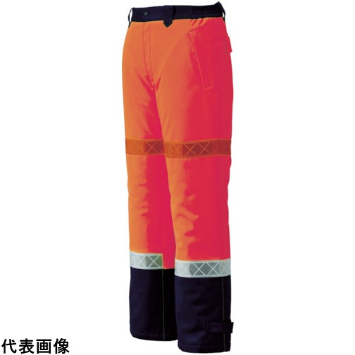 ジーベック 800 高視認防水防寒パンツ 3L オレンジ [800-82-3L] 800823L 販売単位:1 送料無料