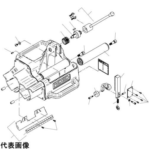 RIDGID アーバー シャフト F/122J [94887] 94887 販売単位:1 送料無料