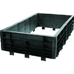 ラバーメイド プラットフォームトラック用サイドパネルパッケージ ブラック [9T0907] 9T0907 販売単位:1 送料無料