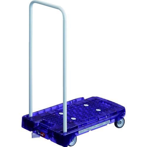 TRUSCO トラスコ中山 アクロ PC製 省音車輪 600X390 バイオレット透明 S付 [AC-1PC-VI-S] AC1PCVIS 販売単位:1 送料無料