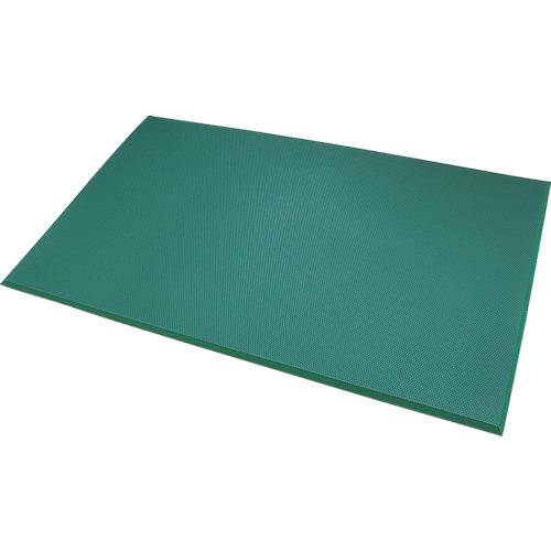 カーボーイ 足腰マット 穴なし Lサイズ グリーン [AM03GR] AM03GR 販売単位:1 送料無料