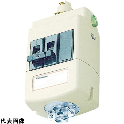 Panasonic ブレーカ付ターミナルプラグ1型2P30A [DH24833K1] DH24833K1 販売単位:1 送料無料