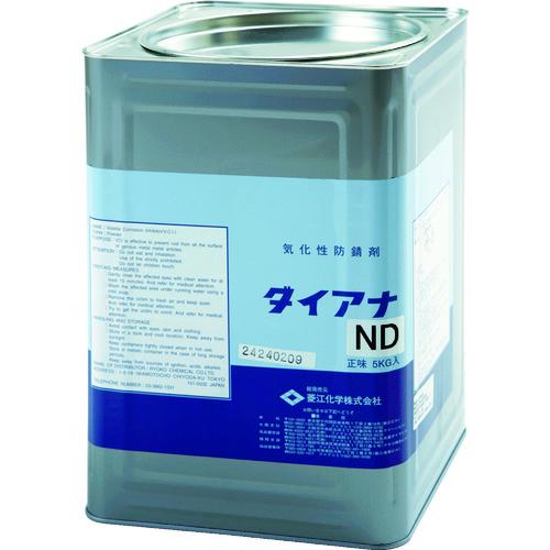 【15日限定クーポン配付中】菱江化学 ダイアナND 5kg [DIANA_ND-5KG] DIANAND5KG 販売単位:1 送料無料