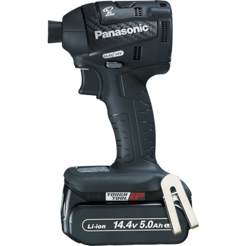 Panasonic 充電インパクトドライバー 14.4V 5.0Ah 黒 [EZ75A7LJ2F-B] EZ75A7LJ2FB 販売単位:1 送料無料
