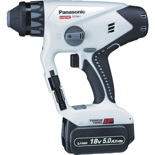 Panasonic 充電マルチハンマードリル18V 5.0Ah グレー [EZ78A1LJ2G-H] EZ78A1LJ2GH 販売単位:1 送料無料