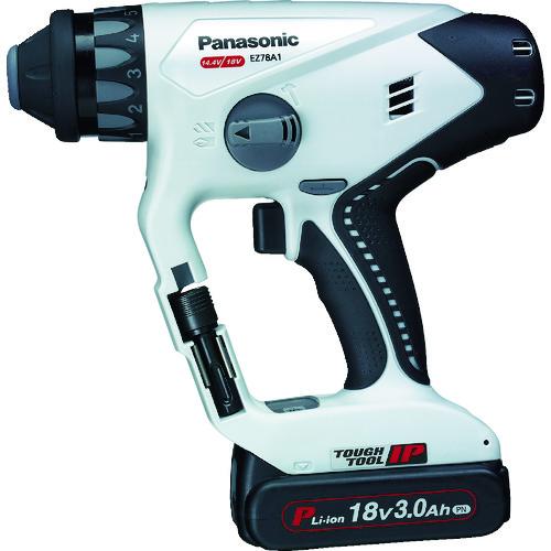 Panasonic 充電マルチハンマードリル18V 3.0Ah グレー [EZ78A1PN2G-H] EZ78A1PN2GH 販売単位:1 送料無料
