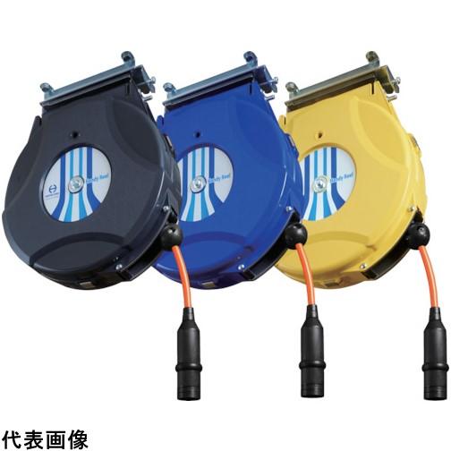 日平 ハンディーエアーリール 6.4×10m 黒 [HAP-210J-BG] HAP210JBG 販売単位:1 送料無料