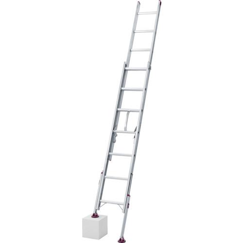 ハセガワ 脚部伸縮式2連はしご ノビ型 [LSK2-1.0-54] LSK21.054 販売単位:1 送料無料
