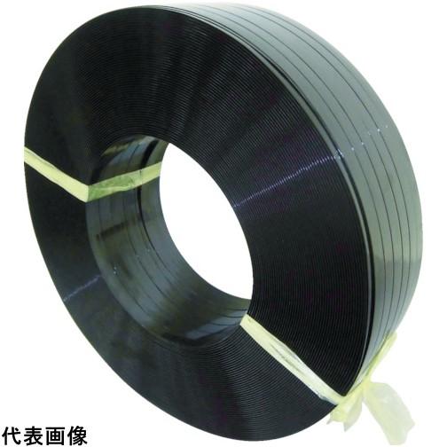 積水 ポリエステルバンド1606×900M-黒 [PET1606M] PET1606M 販売単位:1 送料無料