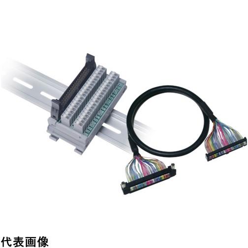 WAGO 三菱PLC対応コネクタ端子台 縦型 ハーネスセット [SET-MC2NR-FM40AS-E1M-PK] SETMC2NRFM40ASE1MPK 販売単位:1 送料無料
