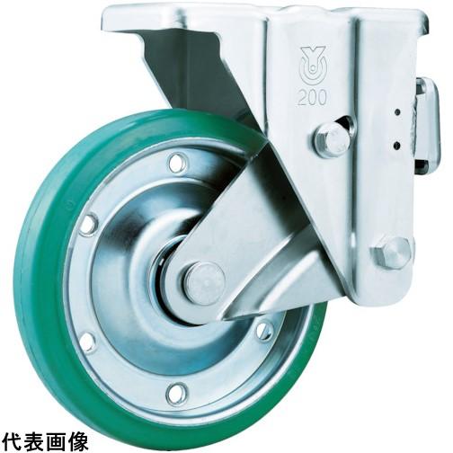 ユーエイ スカイキャスター固定車 200径グリーンゴム車輪 [SKY-1R200WF(GR)] SKY1R200WFGR 販売単位:1 送料無料