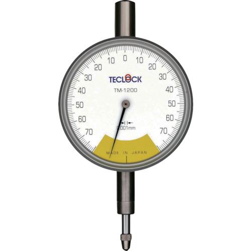 テクロック 1回転未満精密ダイヤルゲージ [TM-1200F] TM1200F 販売単位:1 送料無料