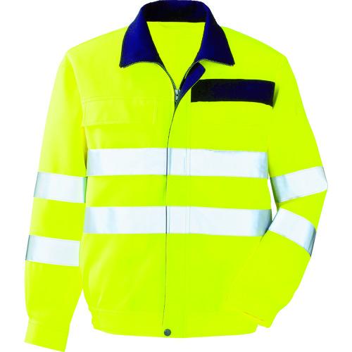 ミドリ安全 高視認 ブルゾン イエロー M [VE 324-UE-M] VE324UEM 販売単位:1 送料無料