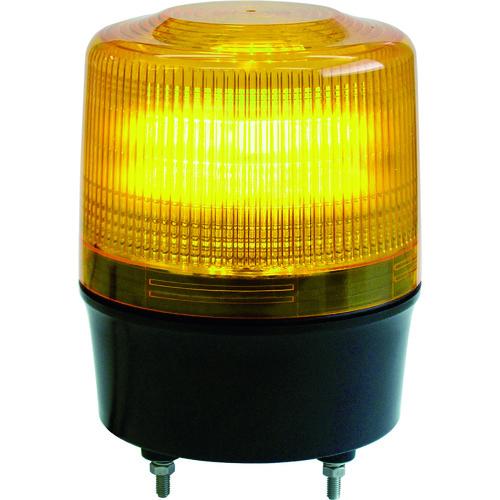 NIKKEI ニコトーチ120 VL12R型 LED回転灯 120パイ 黄 [VL12R-100NY] VL12R100NY 販売単位:1 送料無料