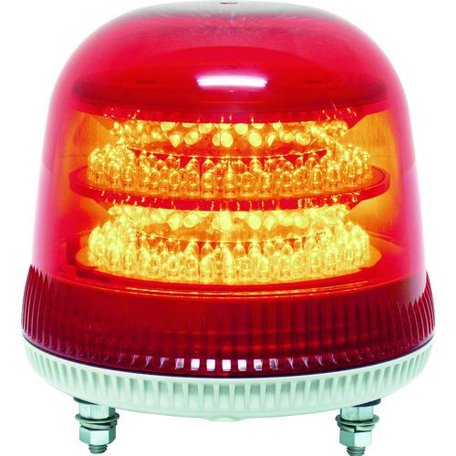 NIKKEI ニコモア VL17R型 LED回転灯 170パイ 赤 [VL17M-100APR] VL17M100APR 販売単位:1 送料無料