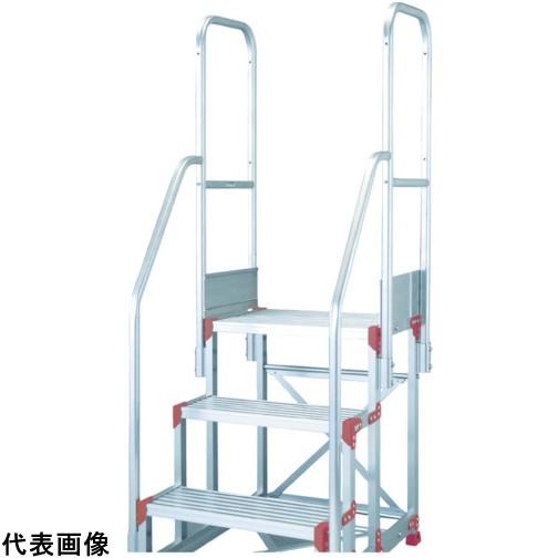 ピカ 作業台用手すりZG-TE型 階段両手すり天場二方 3・4段用 [ZG-TE29A11H] ZGTE29A11H 販売単位:1 送料無料