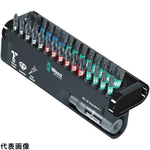 Wera 889/4 バイトーション ビットチェックセット 30本 [057430] 057430 販売単位:1 送料無料