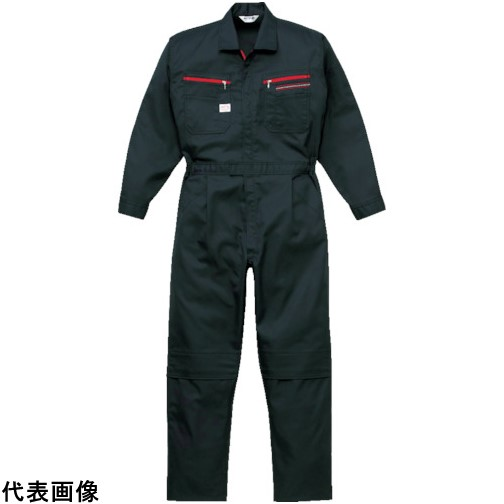 AUTO-BI ツナギ服 3Lサイズ ブラック [1280-BC-3L] 1280BC3L 販売単位:1 送料無料