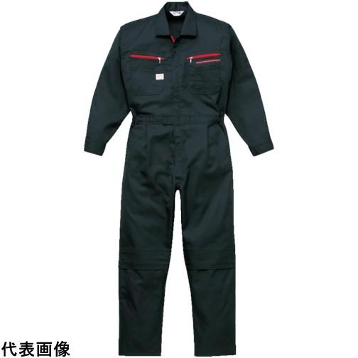 AUTO-BI ツナギ服 4Lサイズ ブラック [1280-BC-4L] 1280BC4L 販売単位:1 送料無料
