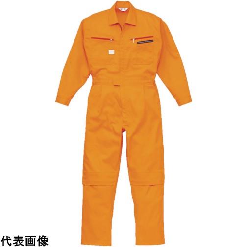 AUTO-BI ツナギ服 4Lサイズ オレンジ [1280-OR-4L] 1280OR4L 販売単位:1 送料無料