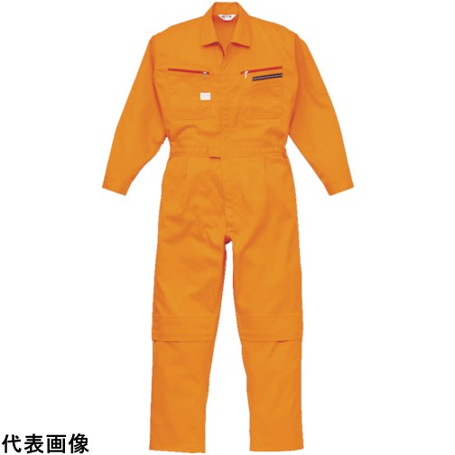 AUTO-BI ツナギ服 LLMサイズ オレンジ [1280-OR-LL] 1280ORLL 販売単位:1 送料無料