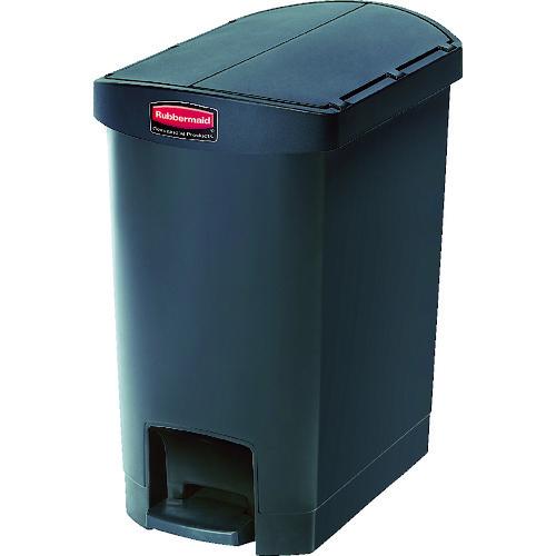 ラバーメイド スリムジムステップオンコンテナ エンドステップ30.3L ブラック [1883610] 1883610 販売単位:1 送料無料