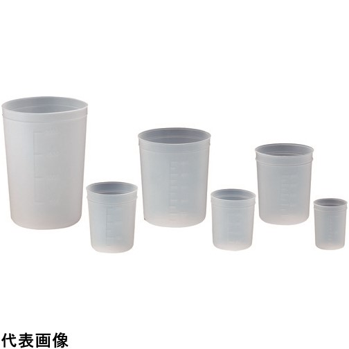 サンプラ ポリディスカップ 100ml (1000個入) [1990] 1990 販売単位:1 送料無料