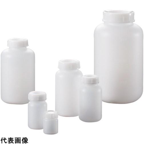 サンプラ PE広口瓶 250mL (100本入) [2084] 2084 販売単位:1 送料無料