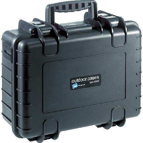 B&W プロテクタケース 4000 黒 フォーム [4000/B/SI] 4000BSI 販売単位:1 送料無料