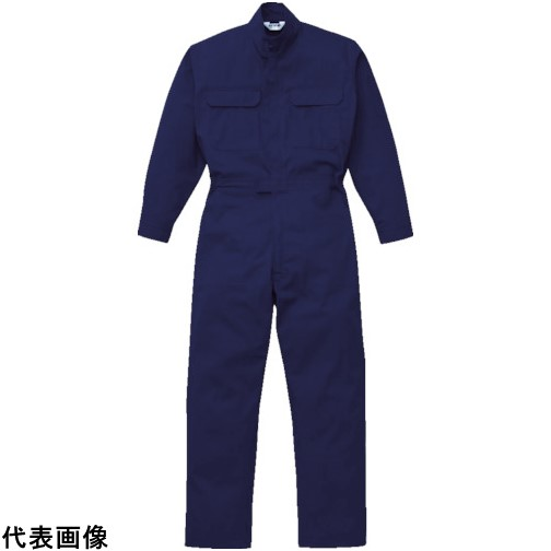AUTO-BI 防炎ツナギ服 Mサイズ ネイビー [5101-NB-M] 5101NBM 販売単位:1 送料無料