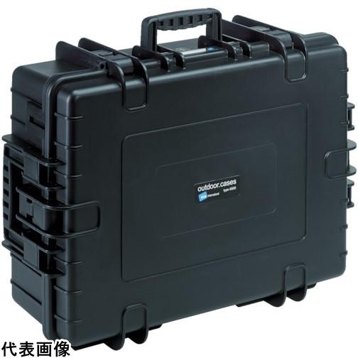 B&W プロテクタケース 6000 黒 フォーム [6000/B/SI] 6000BSI 販売単位:1 送料無料