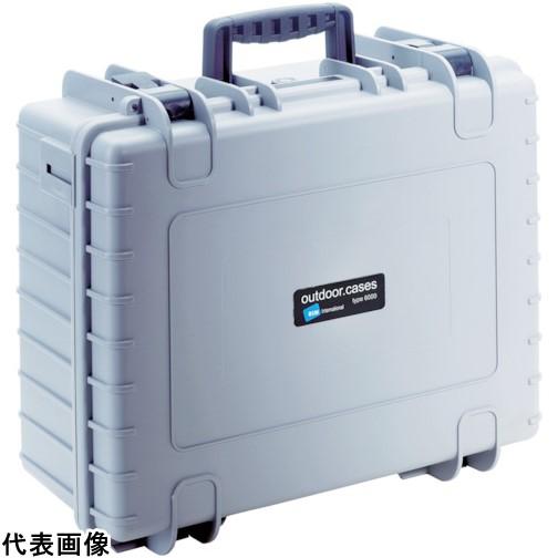 B&W プロテクタケース 6000 グレー DJI [6000/G/DJI4] 6000GDJI4 販売単位:1 送料無料