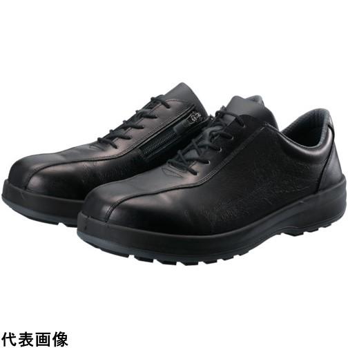 シモン 耐滑・軽量3層底安全短靴8512黒C付 24.0cm [8512C-240] 8512C240 販売単位:1 送料無料