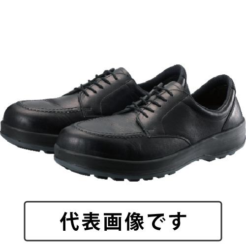 シモン 耐滑・軽量3層底静電紳士靴BS11黒静電靴 24.0cm [BS11S-240] BS11S240 販売単位:1 送料無料