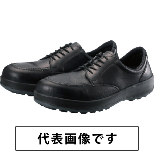 シモン 耐滑・軽量3層底静電紳士靴BS11静電靴 25.5cm [BS11S-255] BS11S255 販売単位:1 送料無料