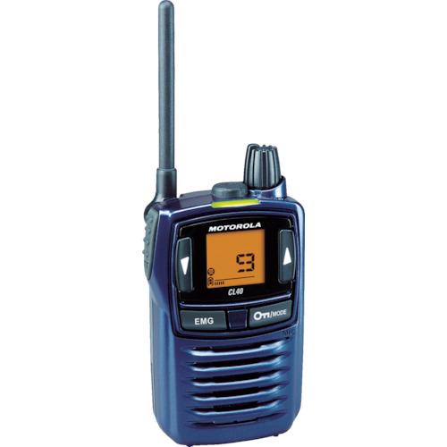 モトローラ 特定小電力トランシーバー [CL40N] CL40N 販売単位:1 送料無料