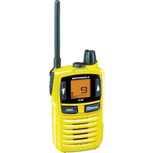 モトローラ 特定小電力トランシーバー [CL40Y] CL40Y 販売単位:1 送料無料