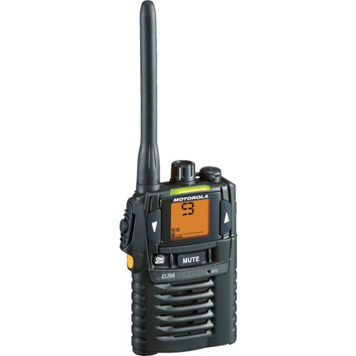 モトローラ 特定小電力トランシーバー [CL70A-BK] CL70ABK 販売単位:1 送料無料