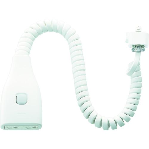 Panasonic リーラーコンセントプラグ(アース付) [DH26771W] DH26771W 販売単位:1 送料無料