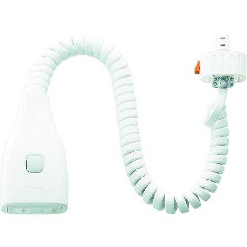 Panasonic リーラーコンセントプラグS型 [DH27751W] DH27751W 販売単位:1 送料無料