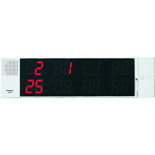 Panasonic サービスコール副表示器(可変表示タイプ) [ECE3107] ECE3107 販売単位:1 送料無料