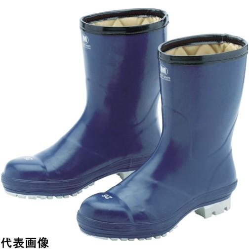 ミドリ安全 氷上で滑りにくい防寒安全長靴 FBH01 ネイビー 27.0cm [FBH01-NV-27.0] FBH01NV27.0 販売単位:1 送料無料