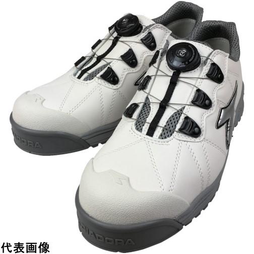 ドンケル 株 保護具 安全靴 作業靴 プロテクティブスニーカー ディアドラ FC181-265 4321 限定特価 送料無料 DIADORA安全作業靴 26.5cm 白 銀 マーケティング フィンチ 販売単位:1 FC181265