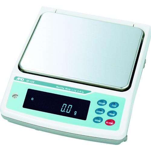 A&D 汎用電子天びん0.1g/12kg [GF12K] GF12K 販売単位:1 送料無料