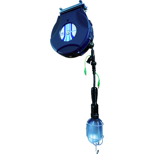 日平 リール ランプリール 10M 125V/10A(コード引き出し時) [HEP-610HL-BG] HEP610HLBG 販売単位:1 送料無料