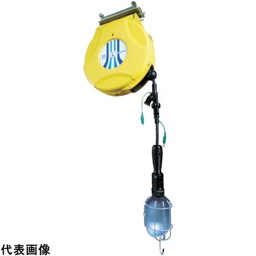日平 リール ランプリールブレーキ式10M125V/10A(コード引き出し時) [HEP-610HLS-BG] HEP610HLSBG 販売単位:1 送料無料